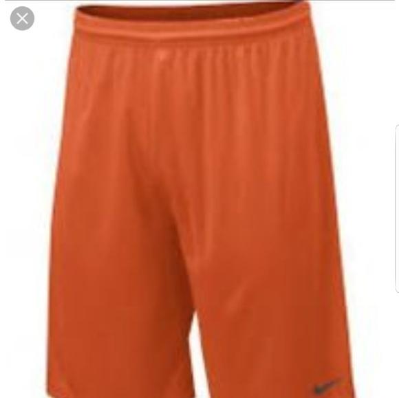 fd95cefc9ec1 Nike Orange Dri-Fit Team UnPocketed Training Short